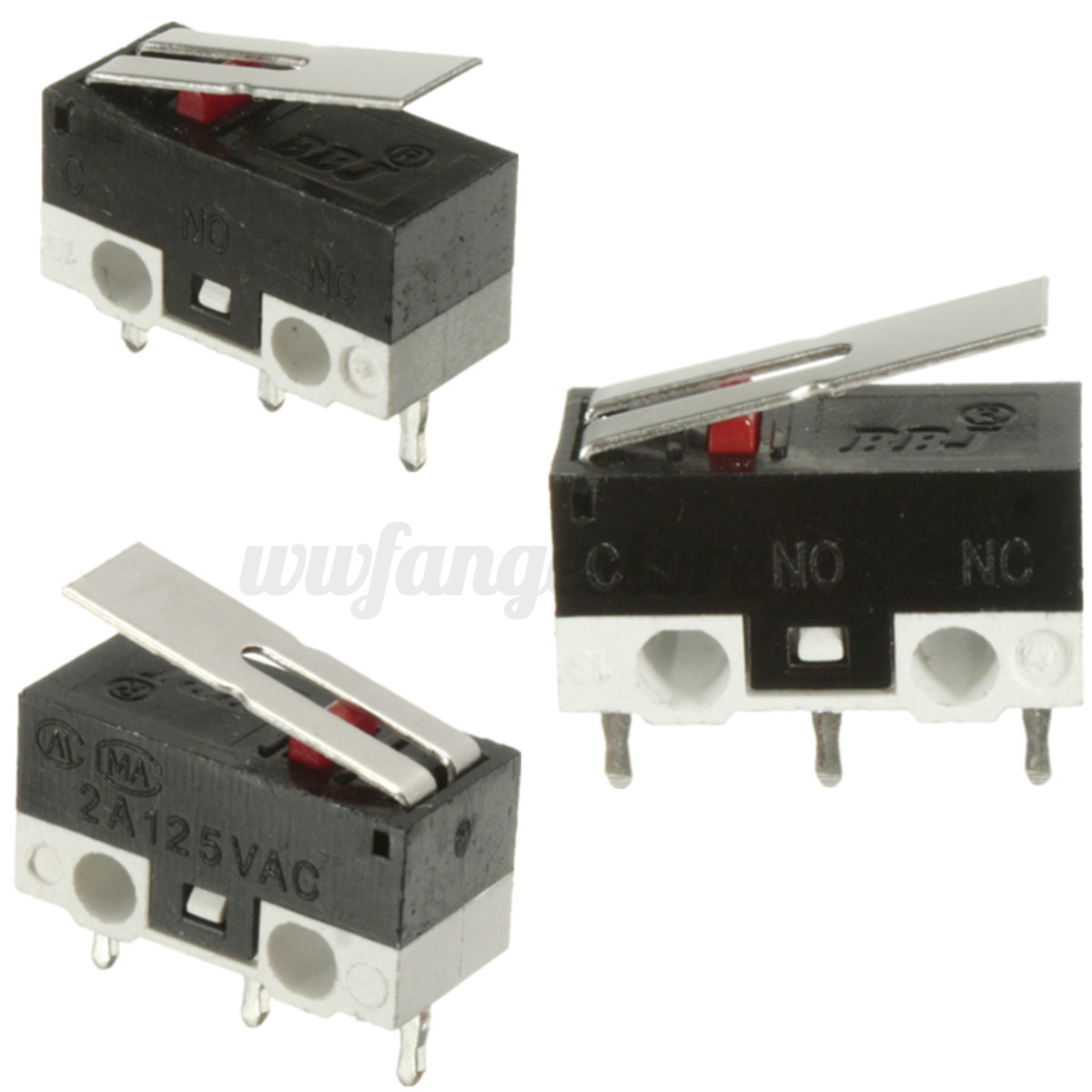 Details About 5x 125vac Mini Roller Lever Actuator Microswitch Spdt Sub Miniature Micro Switch 5a Ebay Detail Image