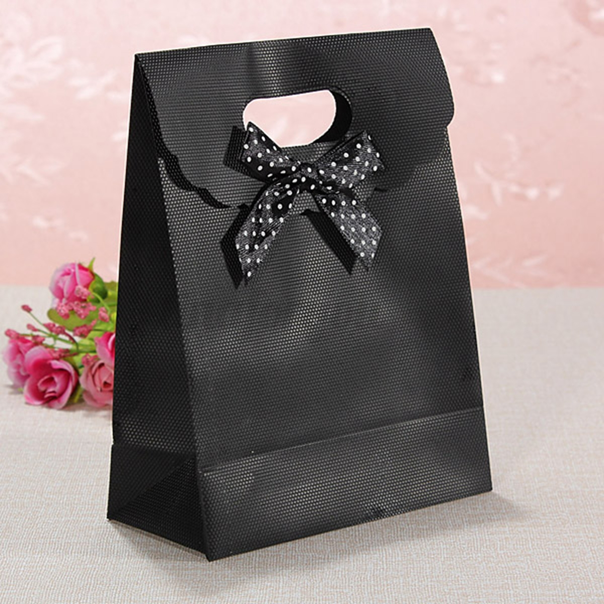 Large Small Bowknot Beauty Flip Plastic Present Wedding Party Gift Hand Bags Ebay