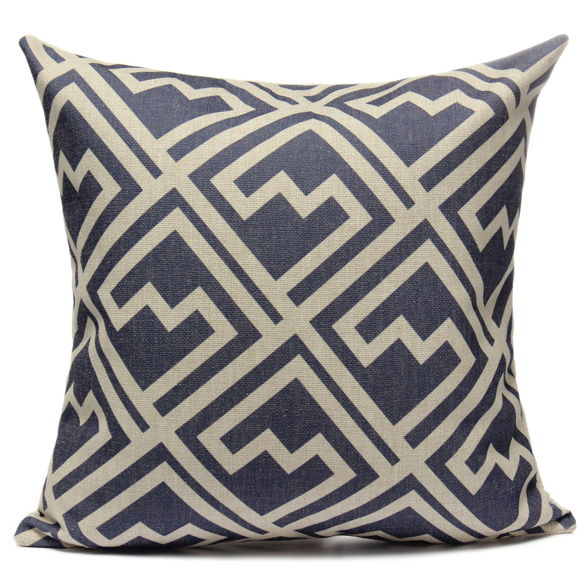 Vintage Geometric Home Decoration Cotton Linen Throw Pillow Case Cushion Cover eBay