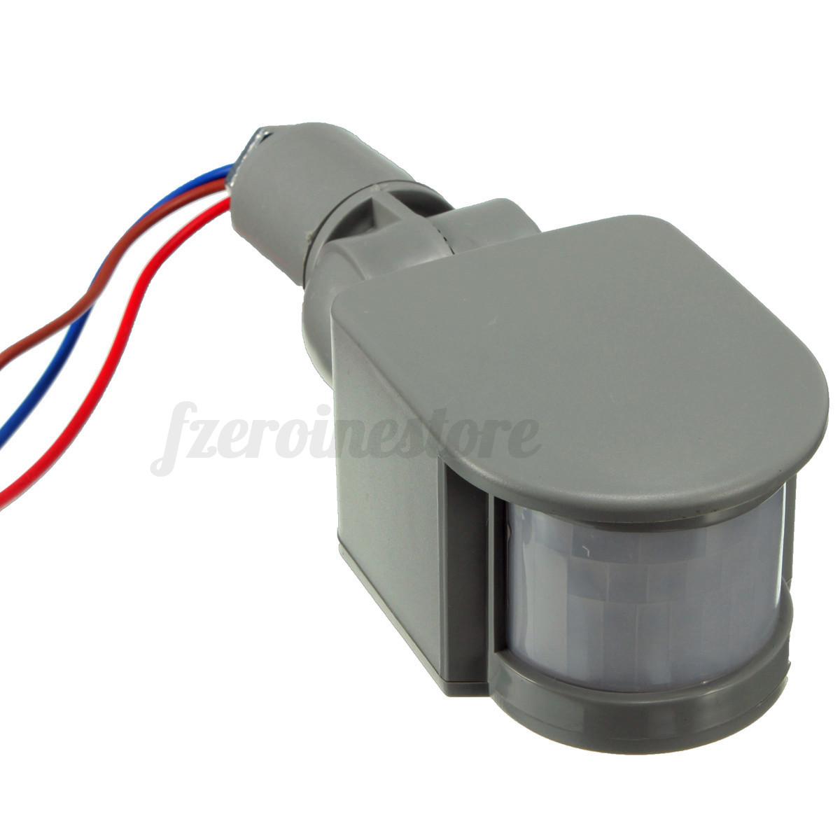 12v 180 sensor detector movimiento luz infrarrojo humano - Luz sensor movimiento ...