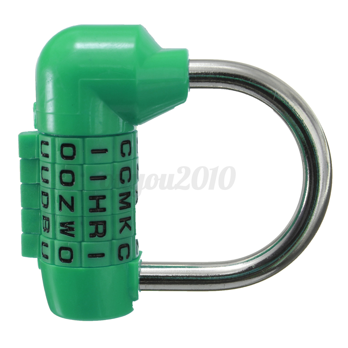 how to change combination on letter lock
