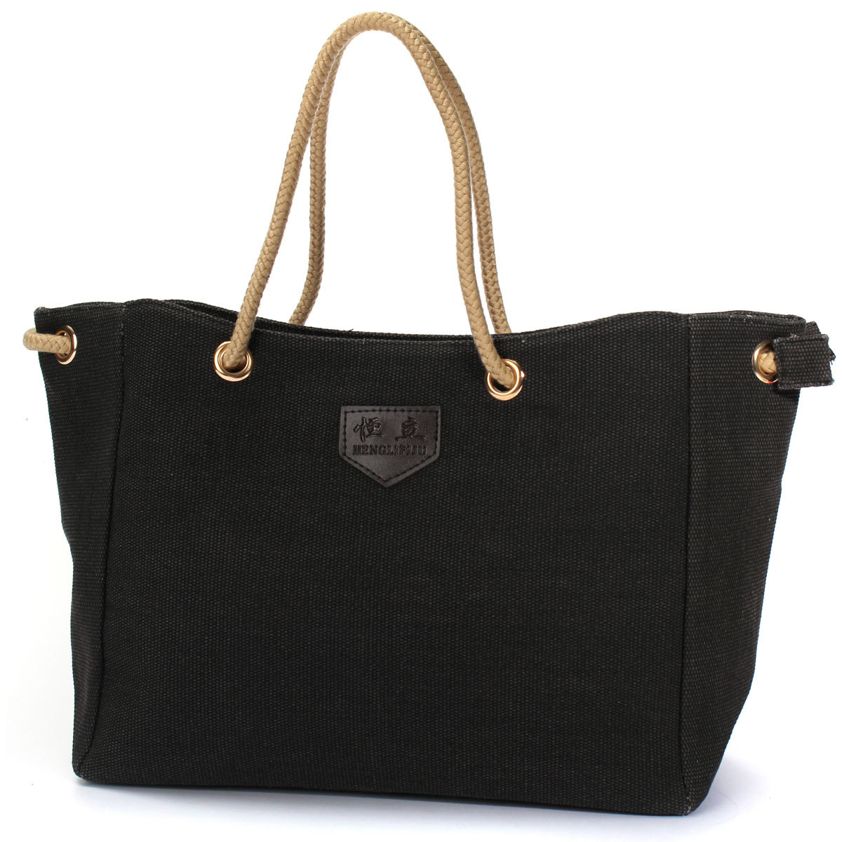 Women Vintage Ladies Large Canvas Handbag Travel Shoulder ...