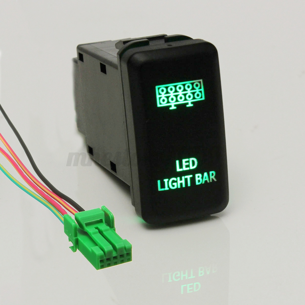 Image Result For Dc Wire Size Chart Wiring T Fj Cruiser 1975 Toyota Land Diagram Is Loading Green Led Light Bar Push Switch 12v Location Milwaukee Wi