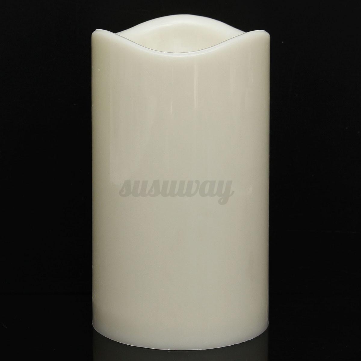 4-Tamano-Lampara-VELA-LED-Candle-Light-Romantica-Sin-llama-LED-Hogar-Decoracion