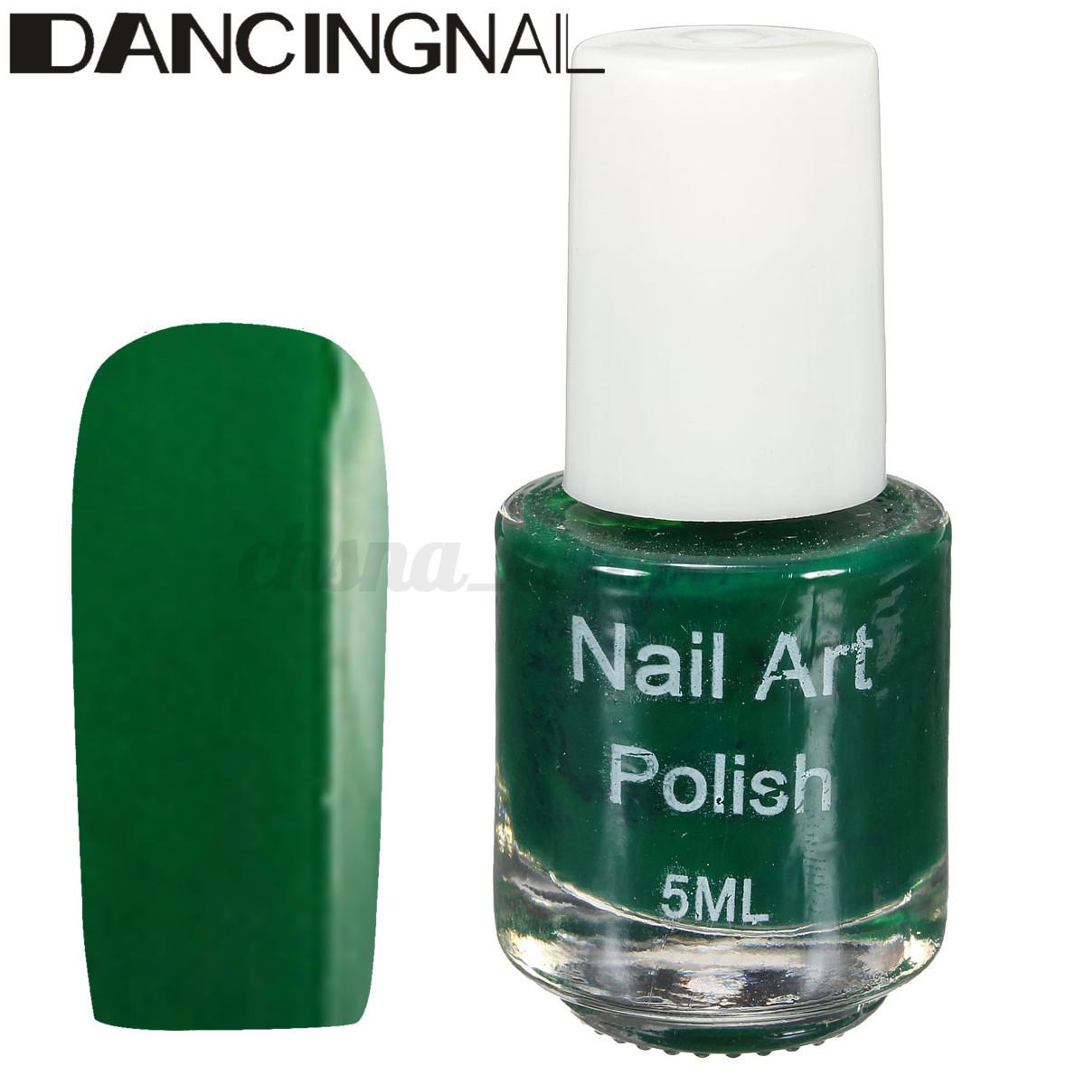 5ml Esmalte de Uñas Estampado Nail Stamping Polish Plantilla ...