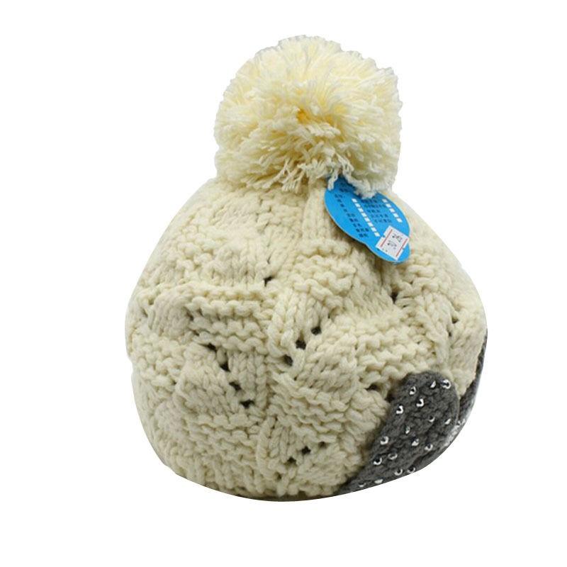 Winter Women Braided Crochet Earflap Hat Ear Flap Knit Beanie Ski ...