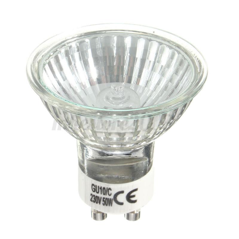 10x gu10 ampoule spot 120 halog ne 20w 35w 50w lampe bulb blanc chaud 220 240v ebay. Black Bedroom Furniture Sets. Home Design Ideas