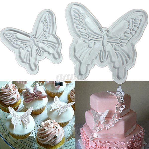 Cake Decoration Types : 18 Types Cookie Fondant Cake Sugarcraft Chocolate Decorating Plunger Cutter Mold eBay