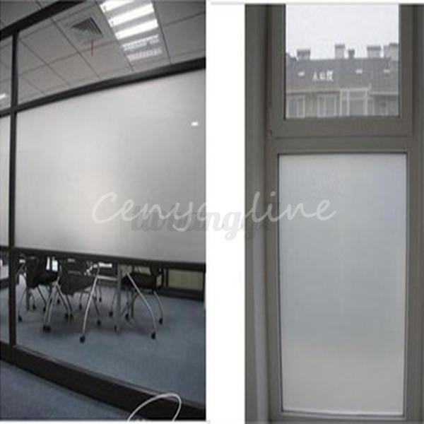Opaque Window Film Ebay Decorative Privacy Window Film Frosted Stained Glass Home Bathroom