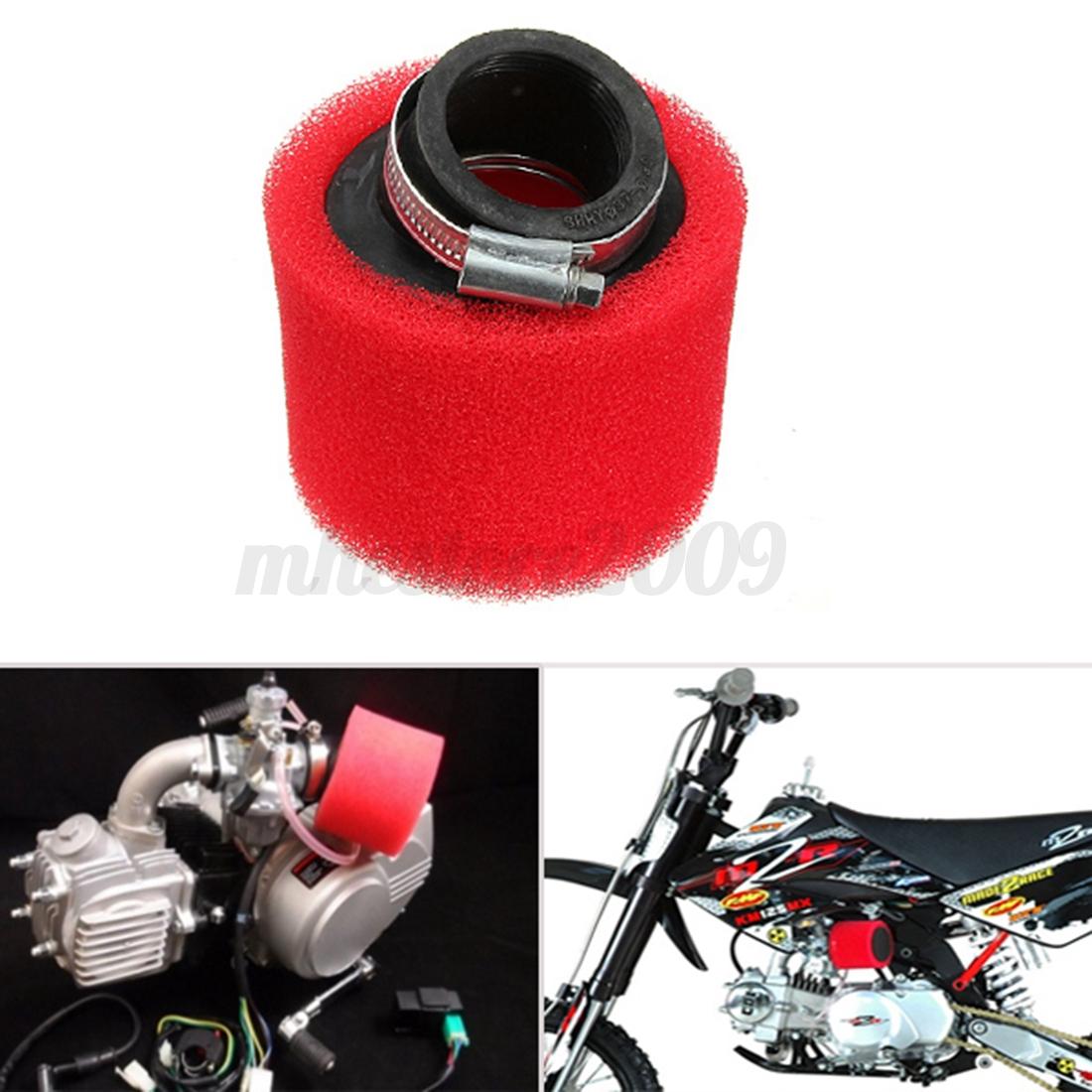 38mm  Air Filter for 90cc-125cc QUAD Go Kart Dirt bike  Pit Bike Motorcycle  ea