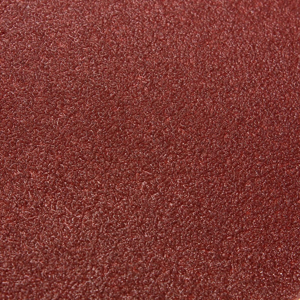5pcs 80 Grit 150mm 6 Quot Peel Stick Red Sandpaper Sand Paper