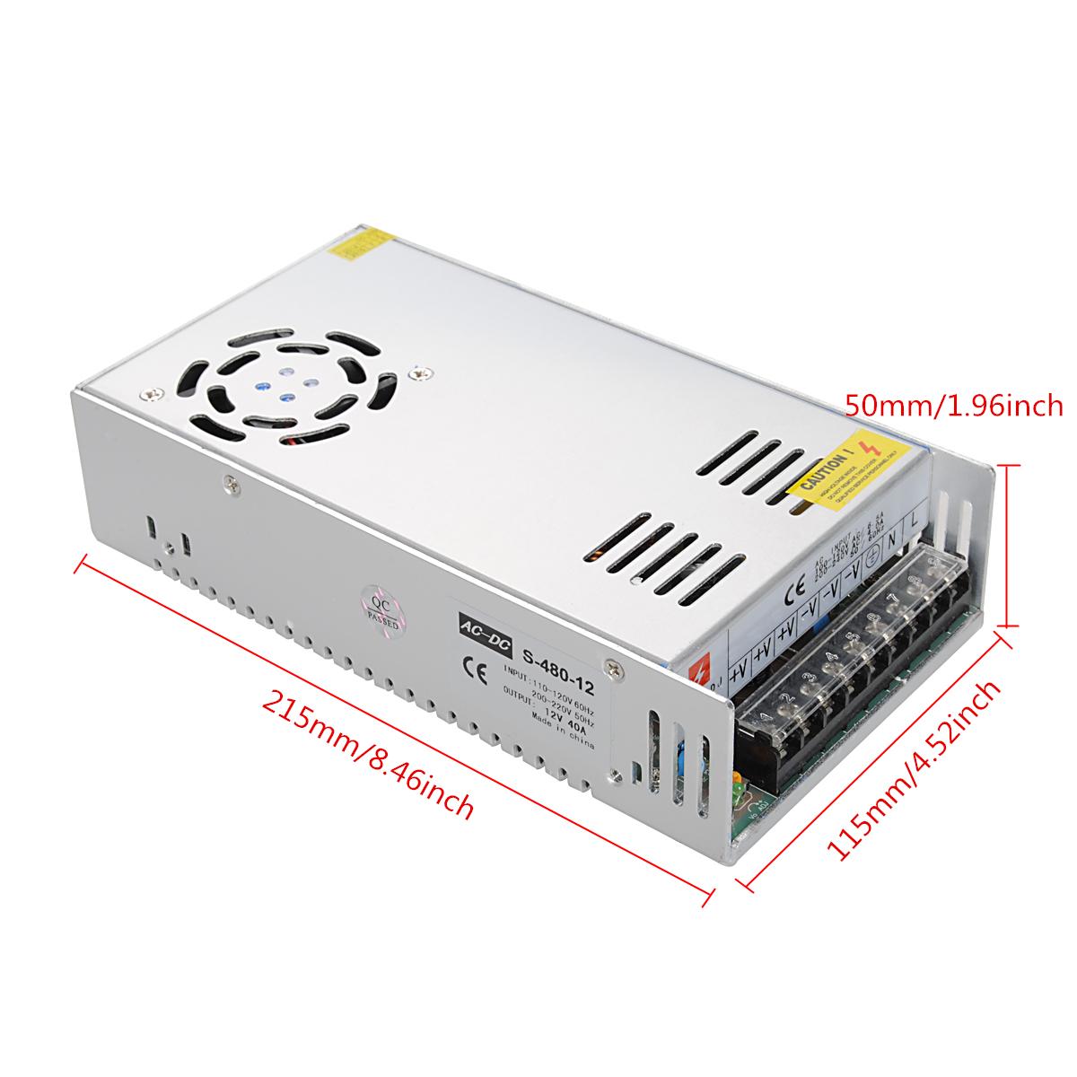 Switch Power Supply Adapter Ac110 220v To Dc 48v 24v 12v