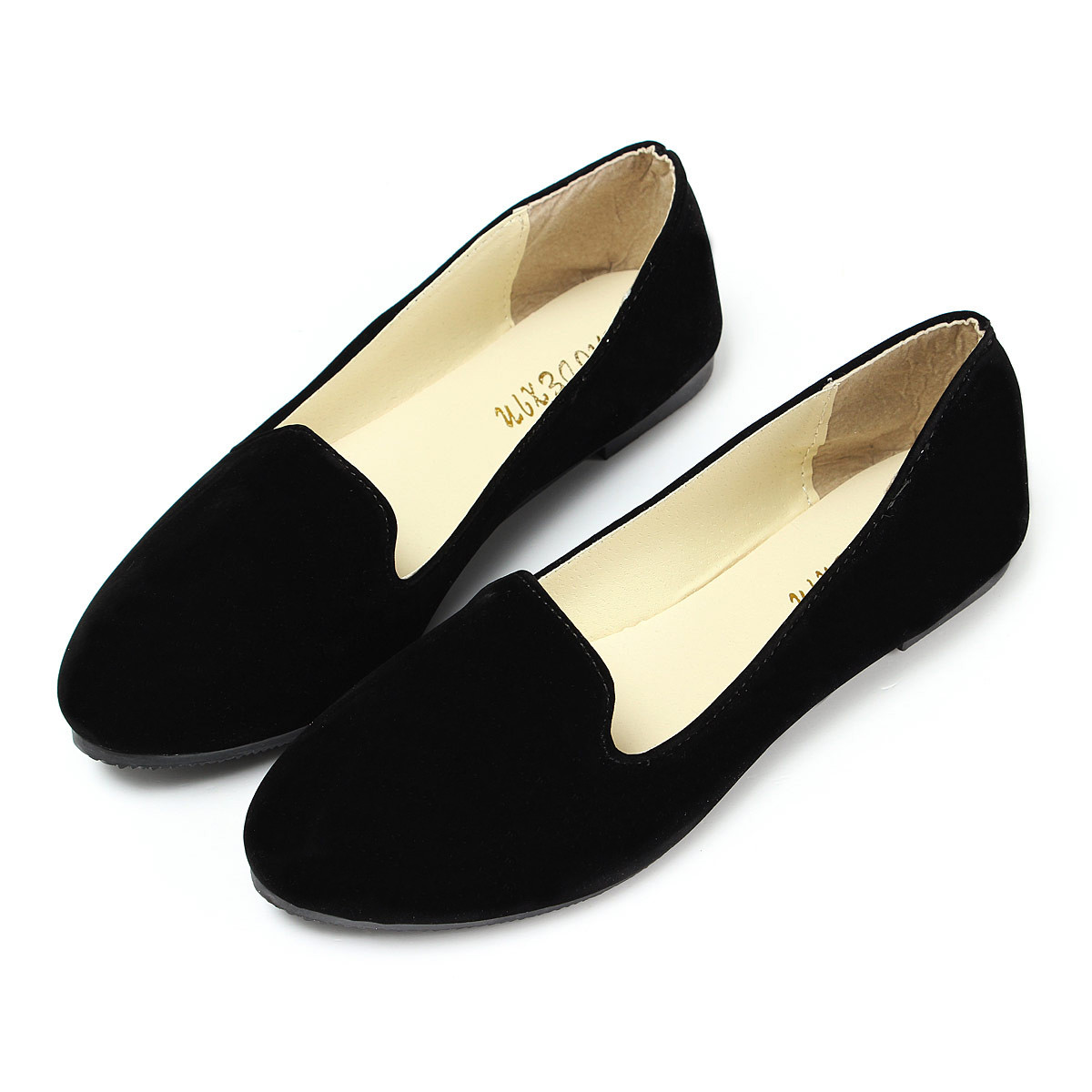 New Women Casual Boat Shoes Lady Flat Ballet Slip On Flats ...