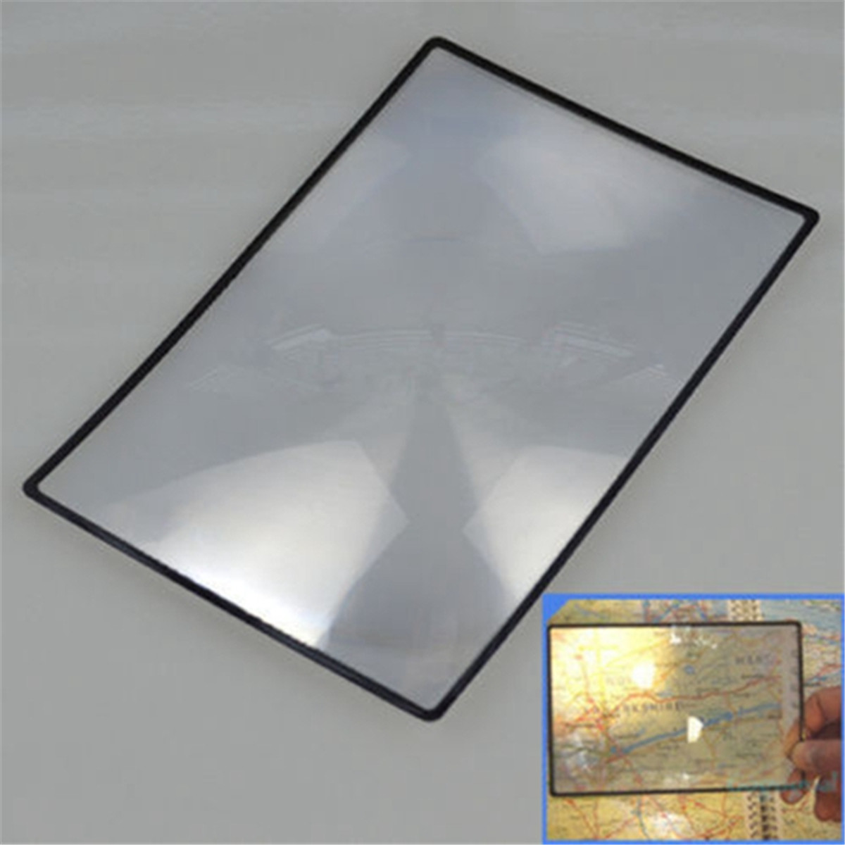 3 Led Light 10x 20x Magnifier Handheld Reading Magnifying