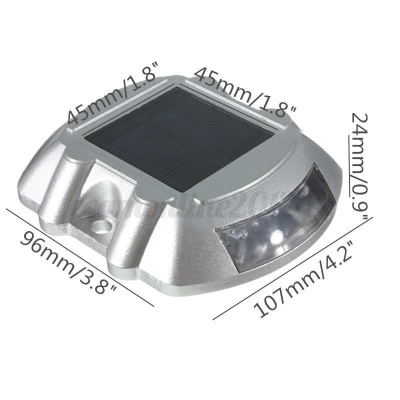 6 led faretto luce ad energia solare lampada led giardino illuminazione esterno eur 9 25 - Lampada ad energia solare da esterno ...