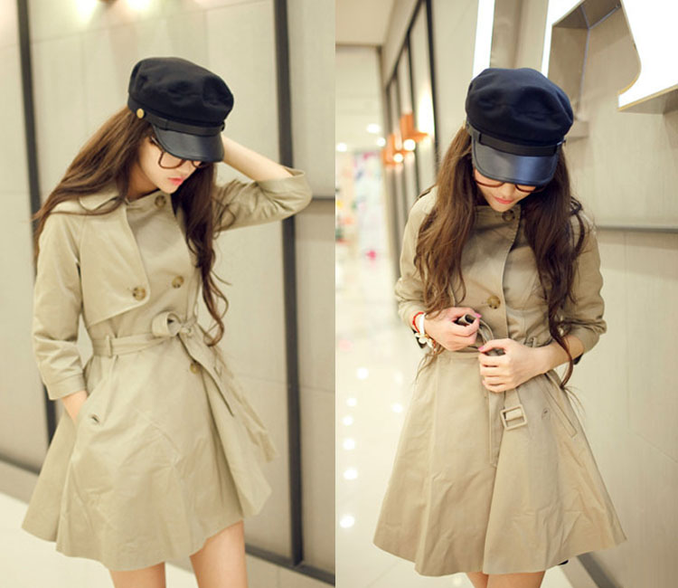 f0b10cc5243 Women Men Army Leather Cap Cadet Military Navy Sailor Flat Cotton ...