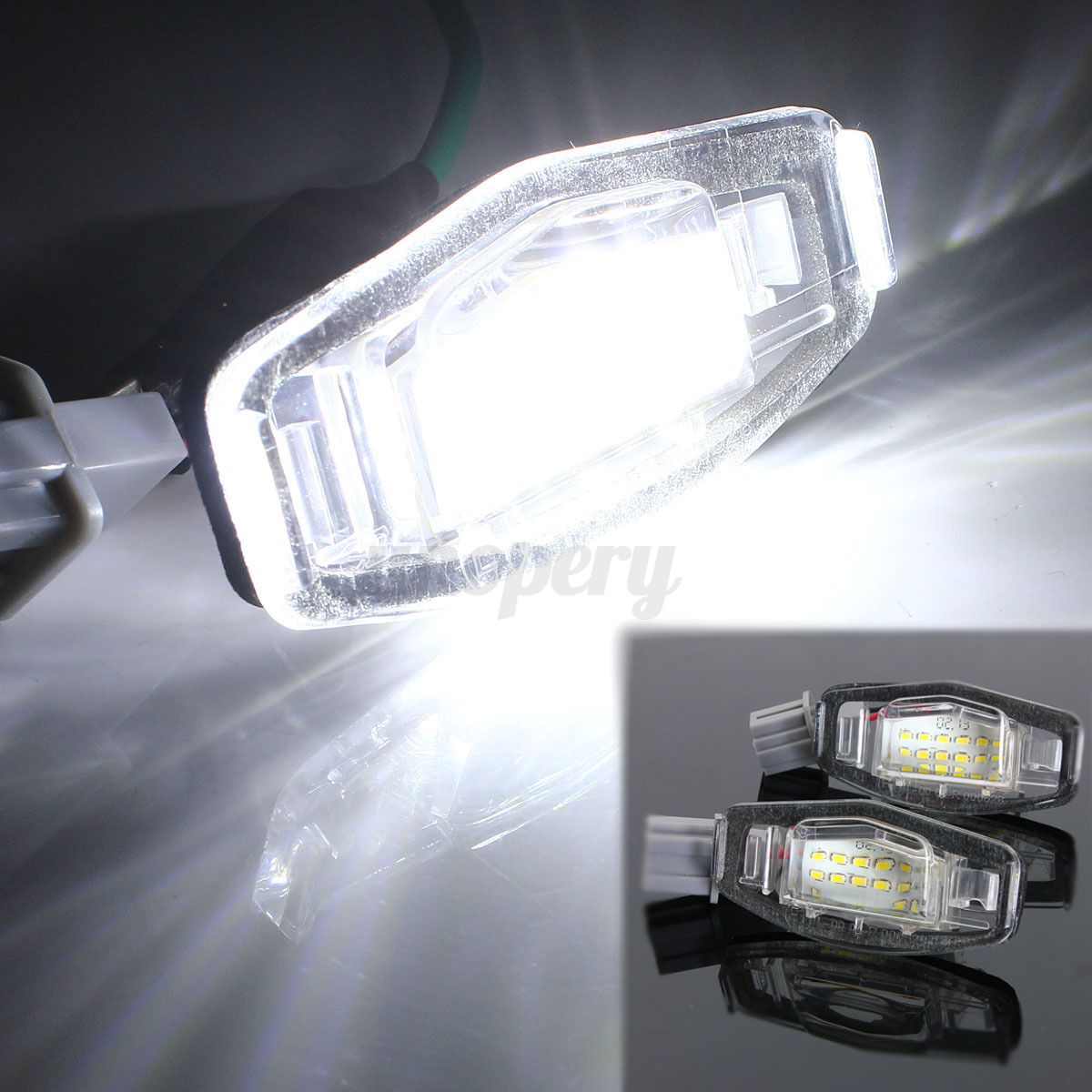 2001 Acura Tl 3 2 >> 2x LED License Plate Light For Acura TL TSX MDX Honda ...