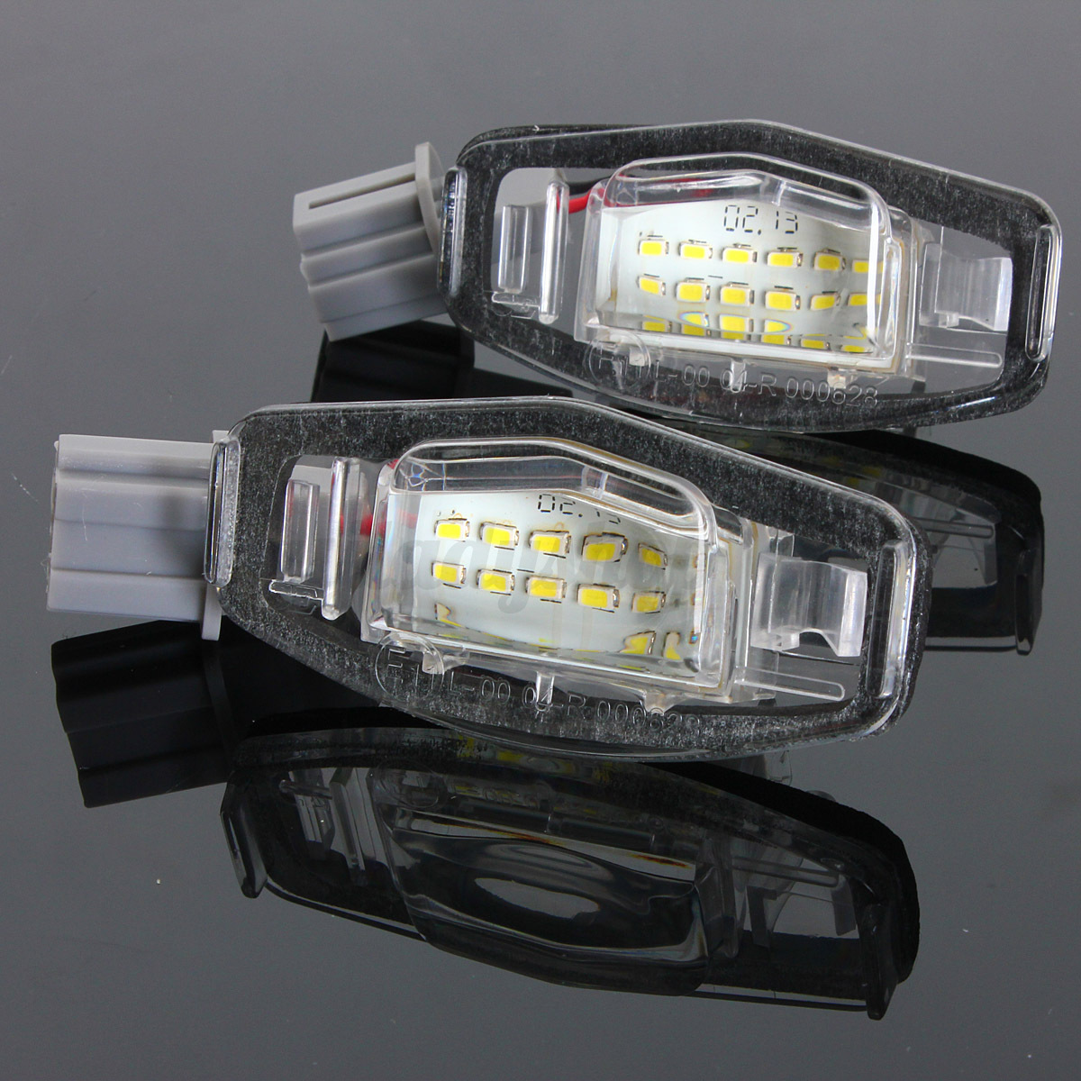 For Acura TL RL TSX RDX Honda Civic Accord 18 LED License