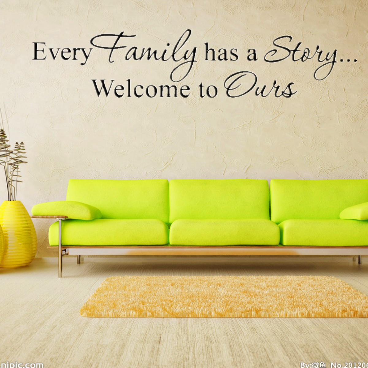 Family Quote DIY Wall Sticker Art Design Decal Mural Home Room ...