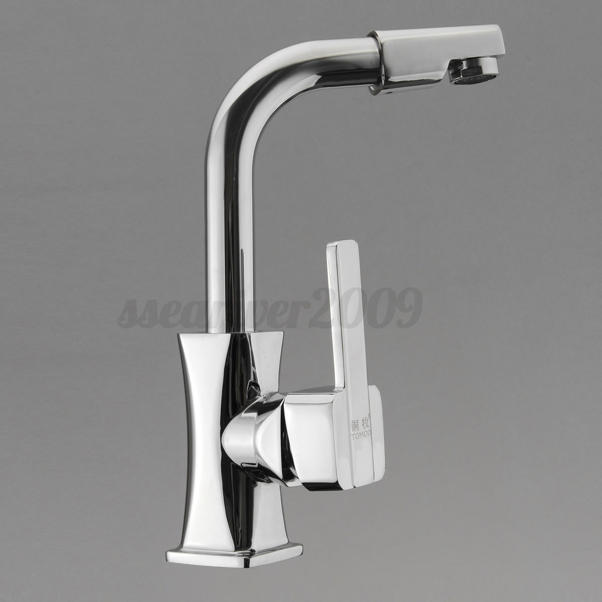 Spring Sink Mixer Tap Kitchen Pull Down Swivel Spray Spout