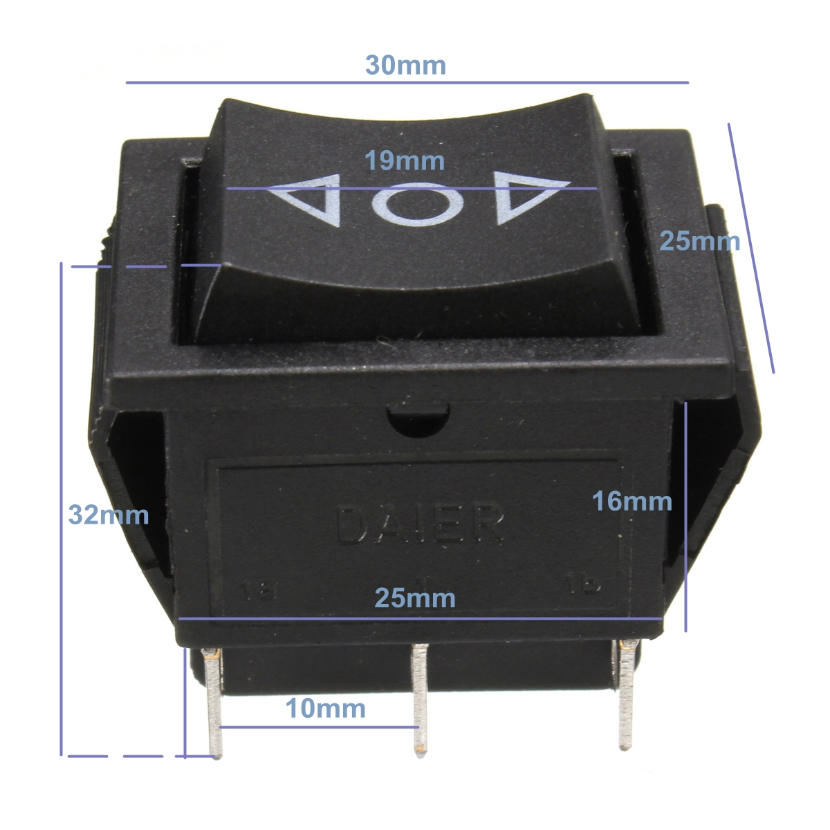 12v Dpdt 6 Pins Car Electric Window Switch Up Down Aerial Momentary Wiring Diagram Detail Image