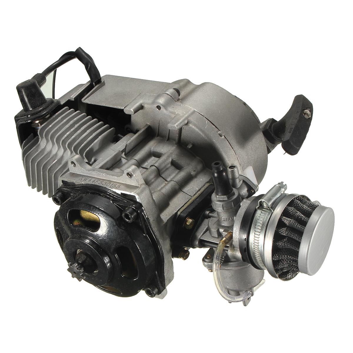 49cc Mini Moto Minimoto Bike Quad Engine W Pullstart Carburettor Wiring Harness Scam Detail Image