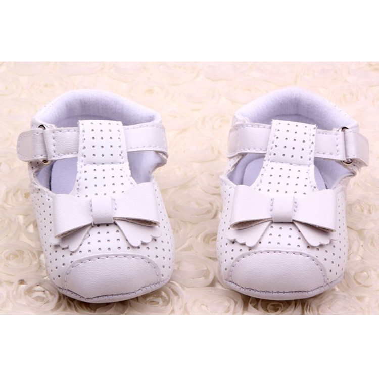 Infant-Toddler-Baby-Girl-Princess-Crib-Shoes-Soft-Sole-Prewalker-Newborn-to-12-M thumbnail 25
