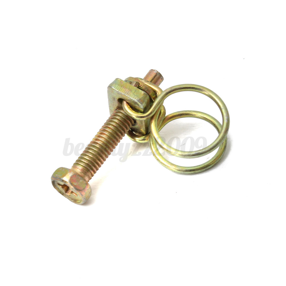 Double wire hose clamp pipe clip screw bolt tight fitting