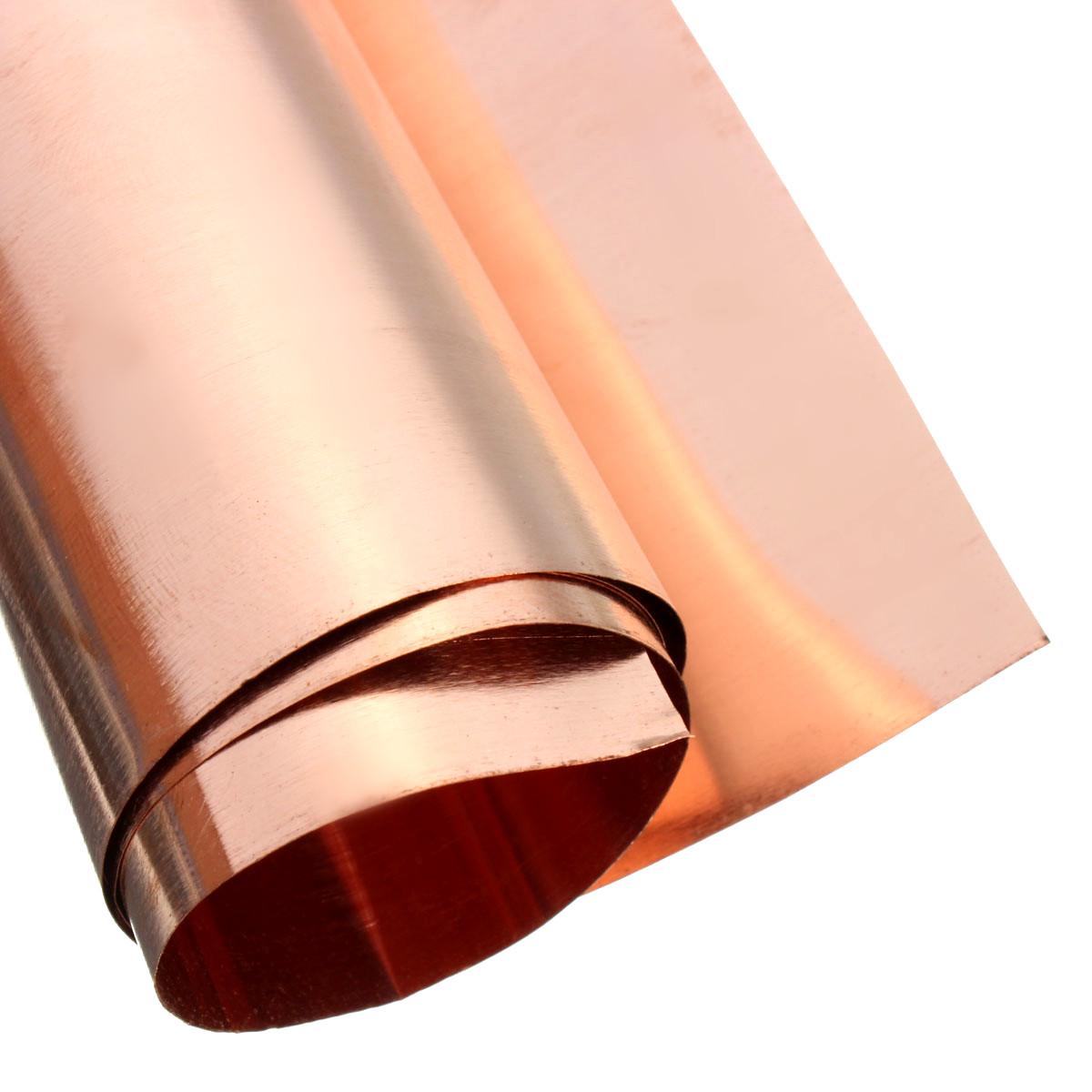 1pcs 99.9/% Pure Copper Cu Metal Sheet Plate 0.8mm*100mm*100mm #E308