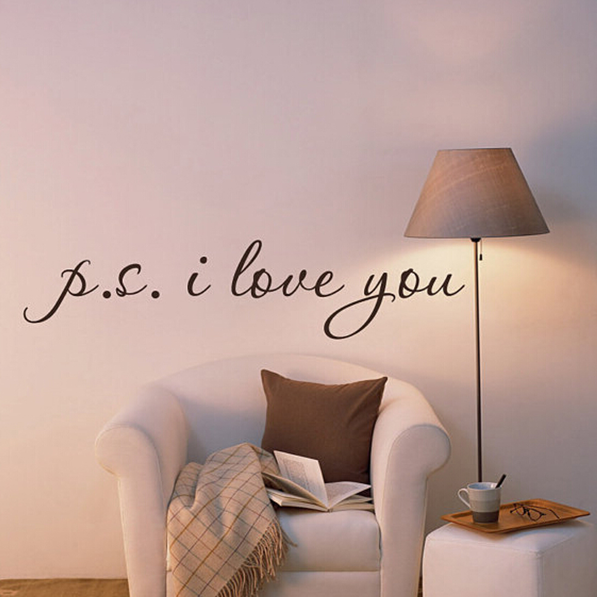 New Vinyl Quote Art Wall Stickers Bedroom Removable Decal Mural Diy