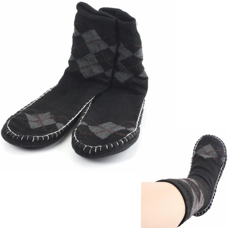 fashionable casual floor slipper socks non slip thick
