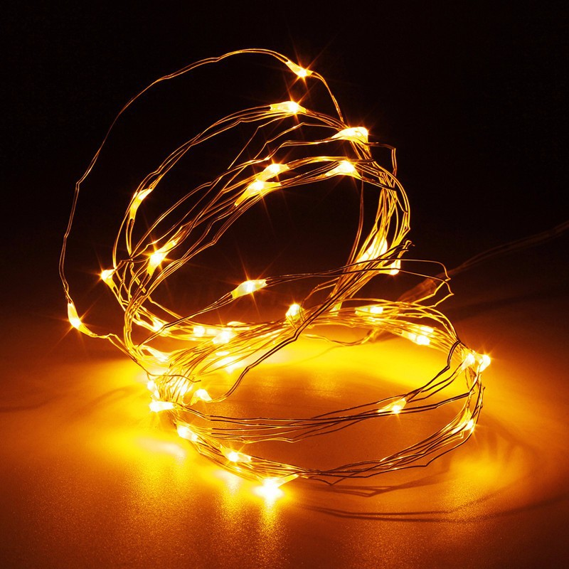 30-50-100-LED-Wire-String-Lights-Fairy-Xmas-Party-Decor-Holiday-Wedding-Supplies thumbnail 19
