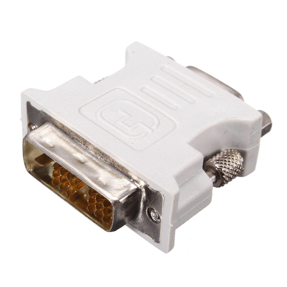 24 1 Pin Dvi D Male Adapter To 15 Pin Vga Female Video Converter Lots Wholesale