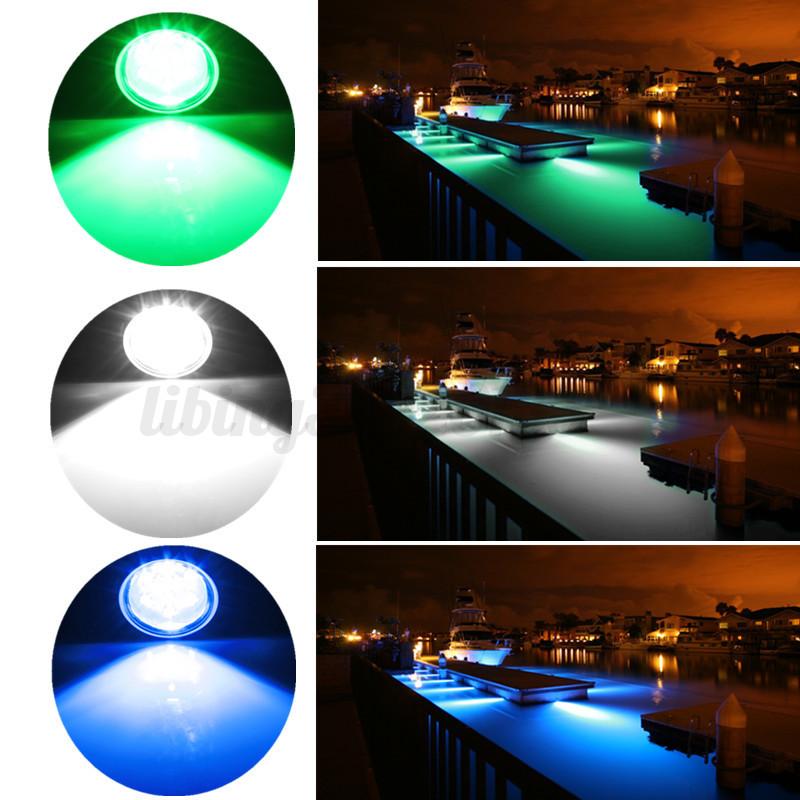 27w led unterwasser beleuchtung wasserdicht rennboot schiff boat 1800lm dc11 28v ebay. Black Bedroom Furniture Sets. Home Design Ideas