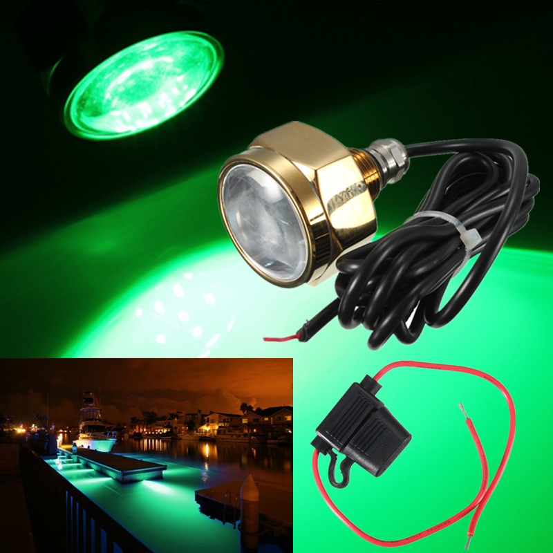27w led unterwasser beleuchtung wasserdicht rennboot schiff boat 1800lm dc11 28v ebay. Black Bedroom Furniture Sets. Home Design Ideas
