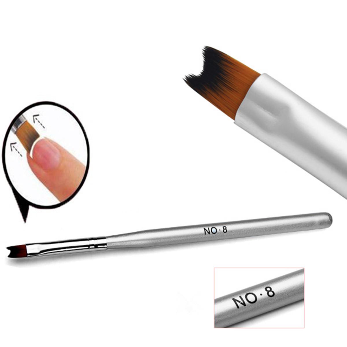 1pcs Acrylic Painting Drawing French Manicure Pen Brush Design Nail ...