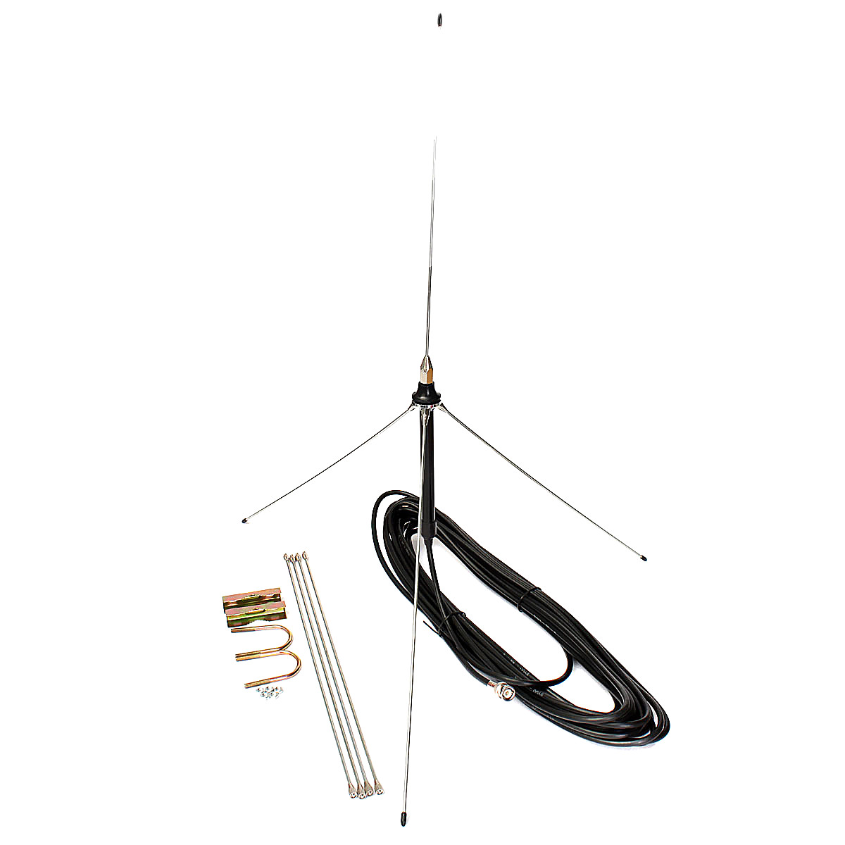15 metros fuerte 1  4 de onda gp de antena bnc de 0 5 a 30
