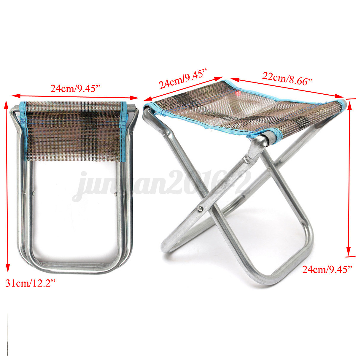 Folding Portable Camping Beach Chair Fold Up Camp Festival Seat Fishing Chairs