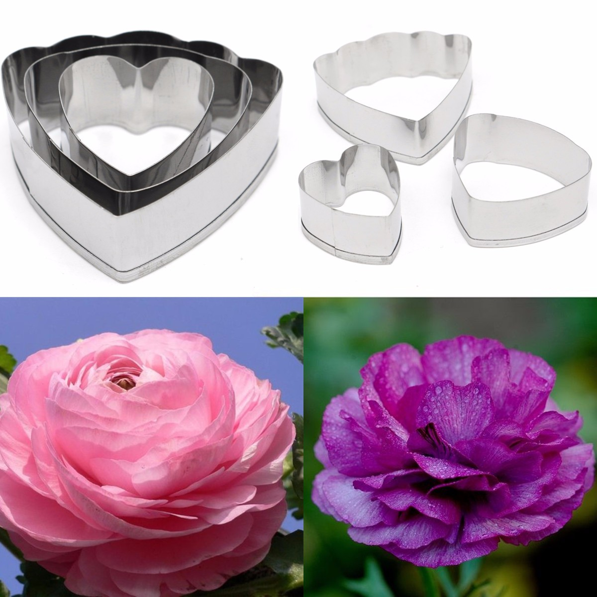 emporte pi ce p tisserie fondant fleur moule g teau biscuit cutter 15 styles ebay. Black Bedroom Furniture Sets. Home Design Ideas