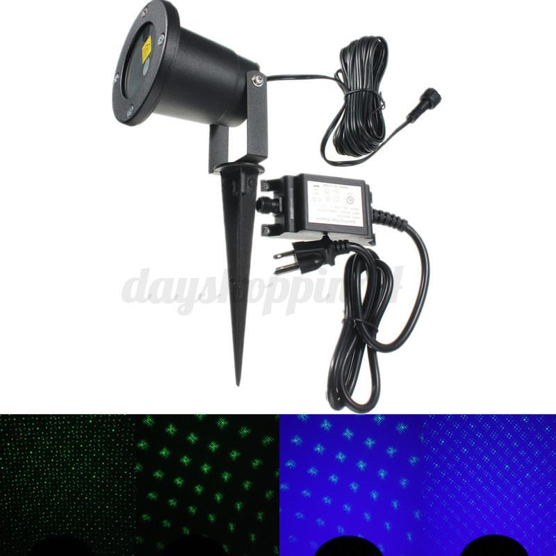 led projecteur laser eclairage lampe jardin paysage no l etanche ext rieure ebay