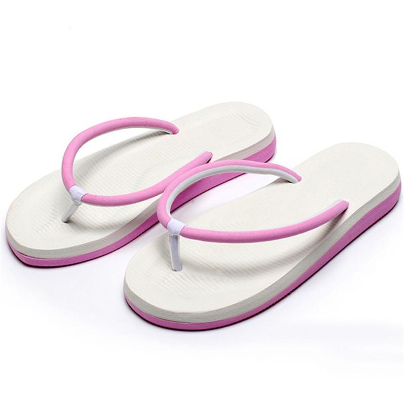 e71fccca355c Men Women Flats Summer Casual Flip Flops Beach Slipper Sandals Outdoors  Shoes