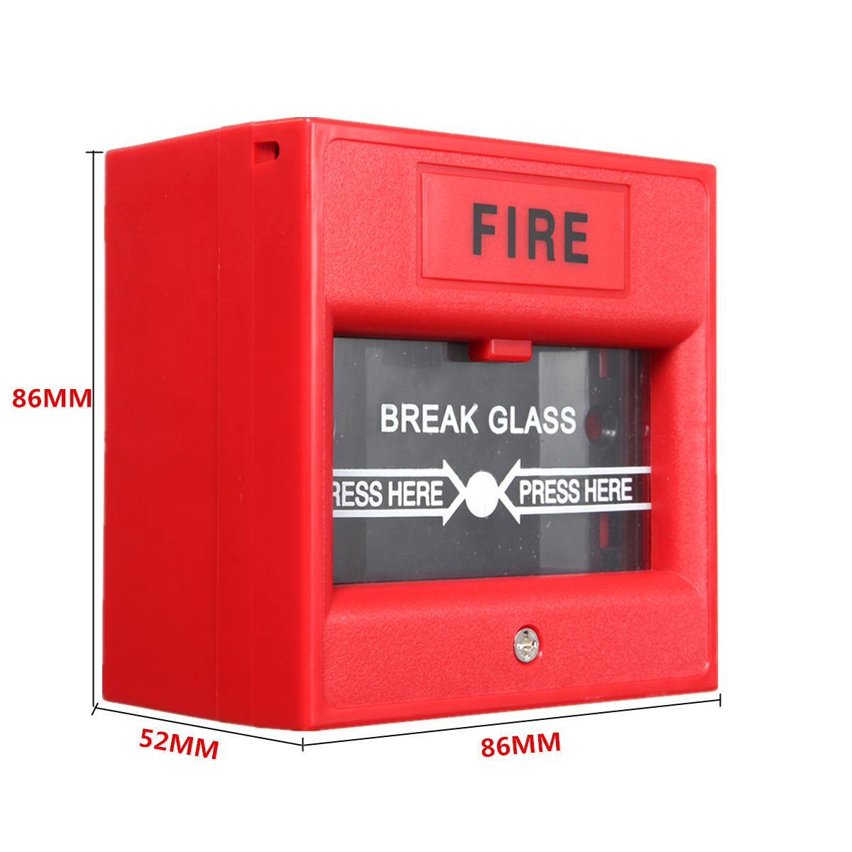 emergency door release fire alarm button call point break