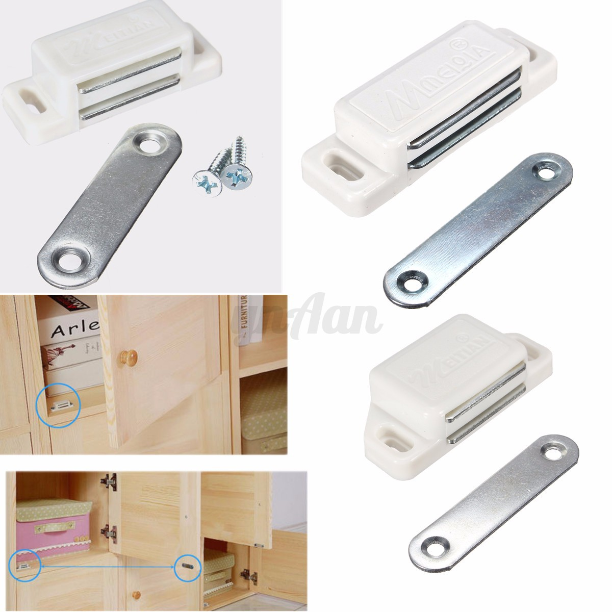 kitchen cabinet door catches magnetic door catches stopper holder latch for kitchen 18519