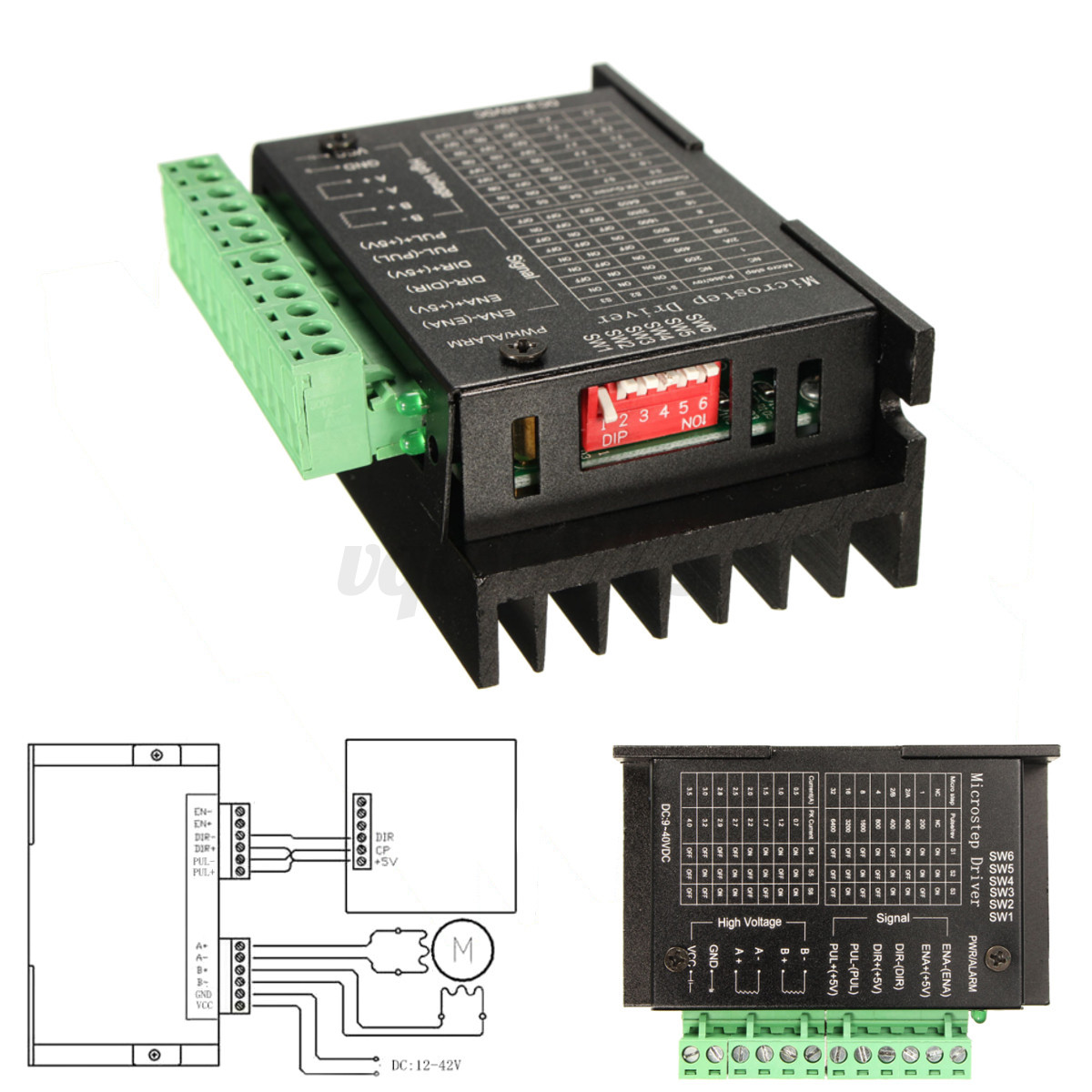 Single tb6600 stepper motor driver controller micro step for Stepping motors and their microprocessor controls