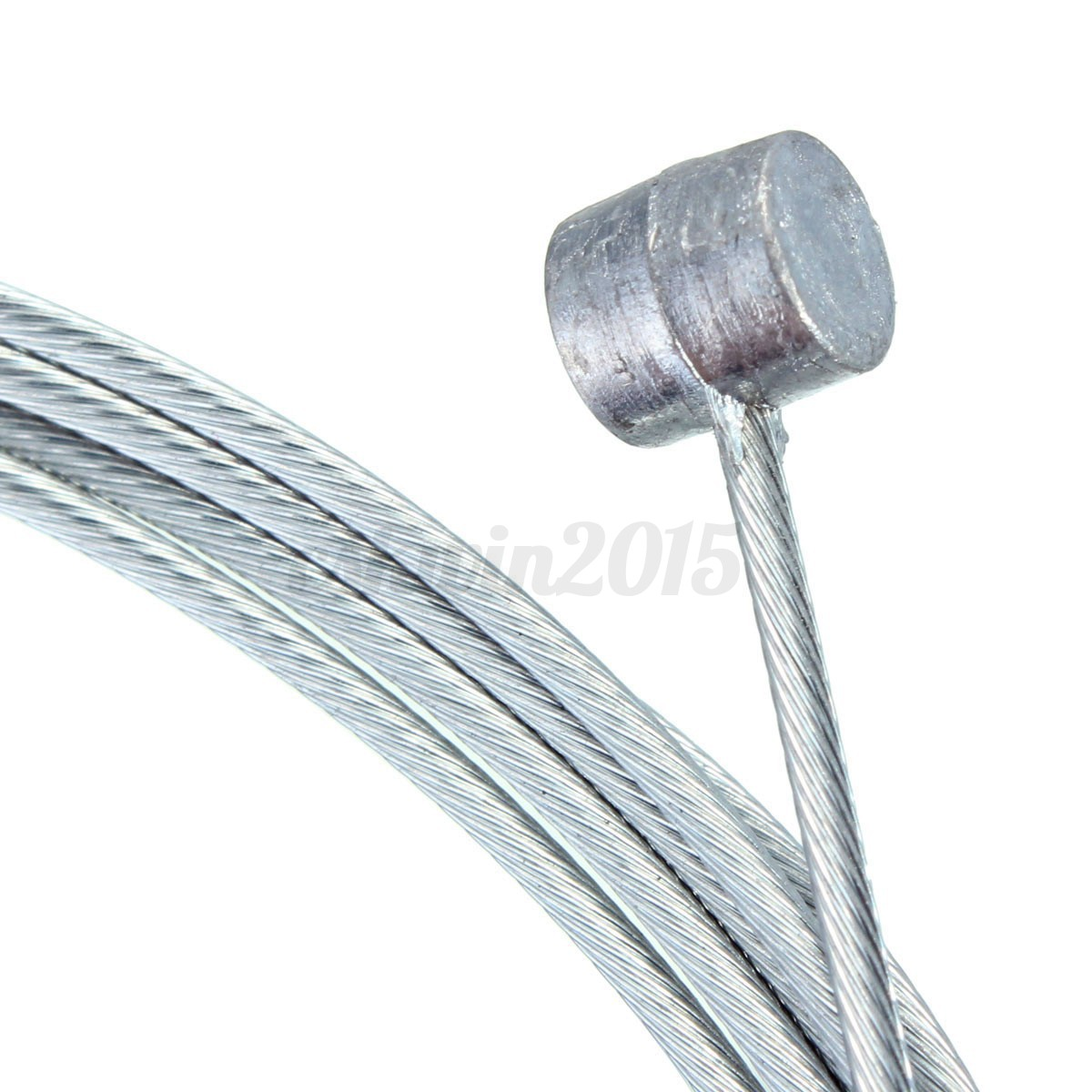 5//20pcs Mountain Bike Bicycle Cycle Brake Inner Cable Core Wire Line Barrel Ends