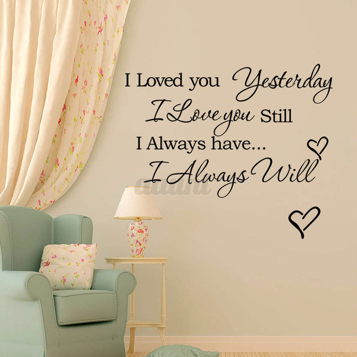 Removable Family Art Vinyl Quote Wall Stickers Decal Mural