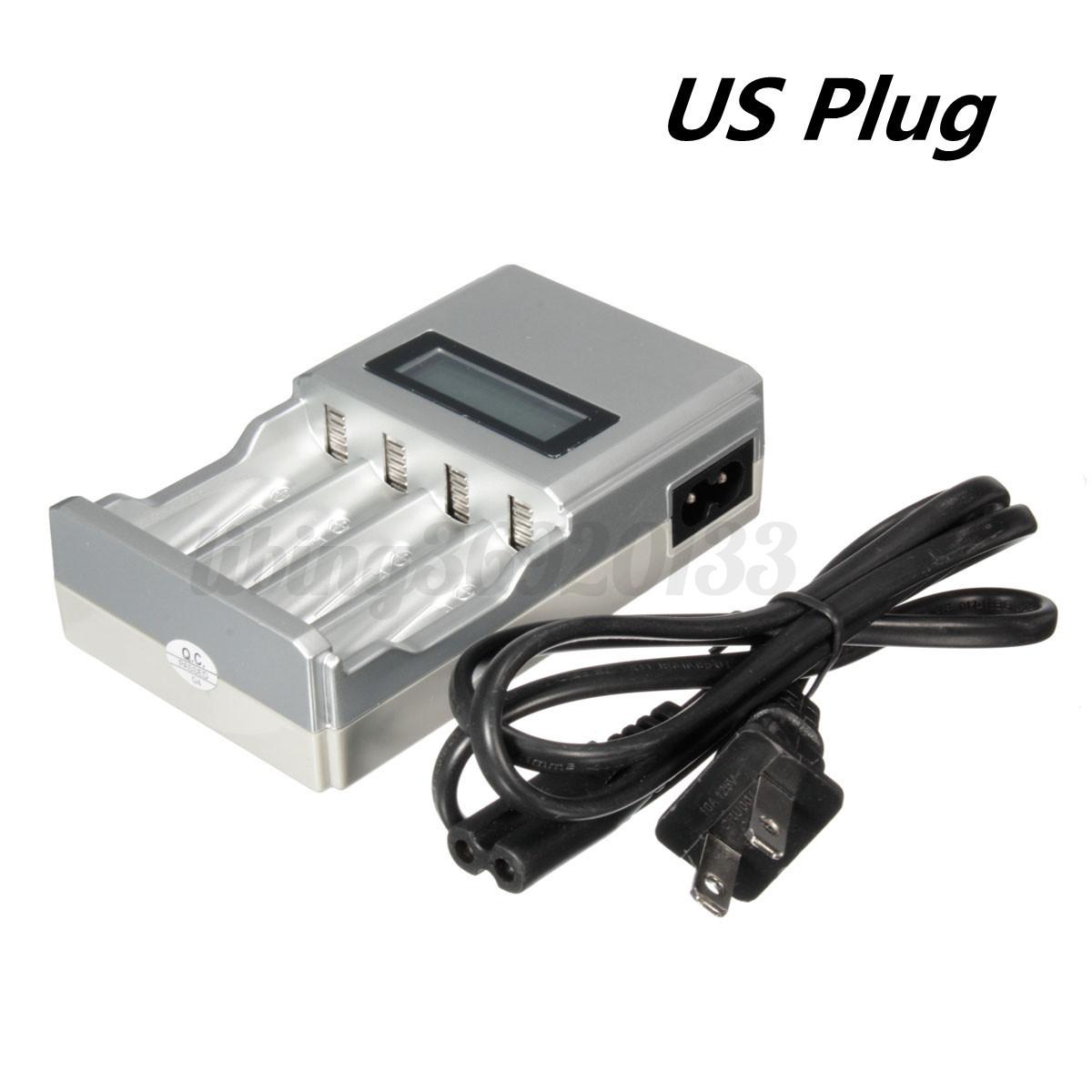 Lcd intelligence smart chargeur de pile eu plug prise pour - Chargeur de piles intelligent ...