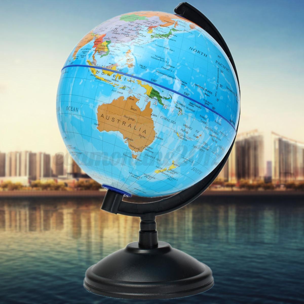 4 20cm globo terr queo mapa geograf a educaci n decoraci n for Globo terraqueo decoracion