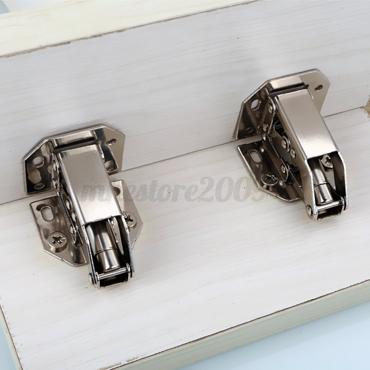 2pcs 90 degree easy fitting concealed cabinet kitchen cupboard