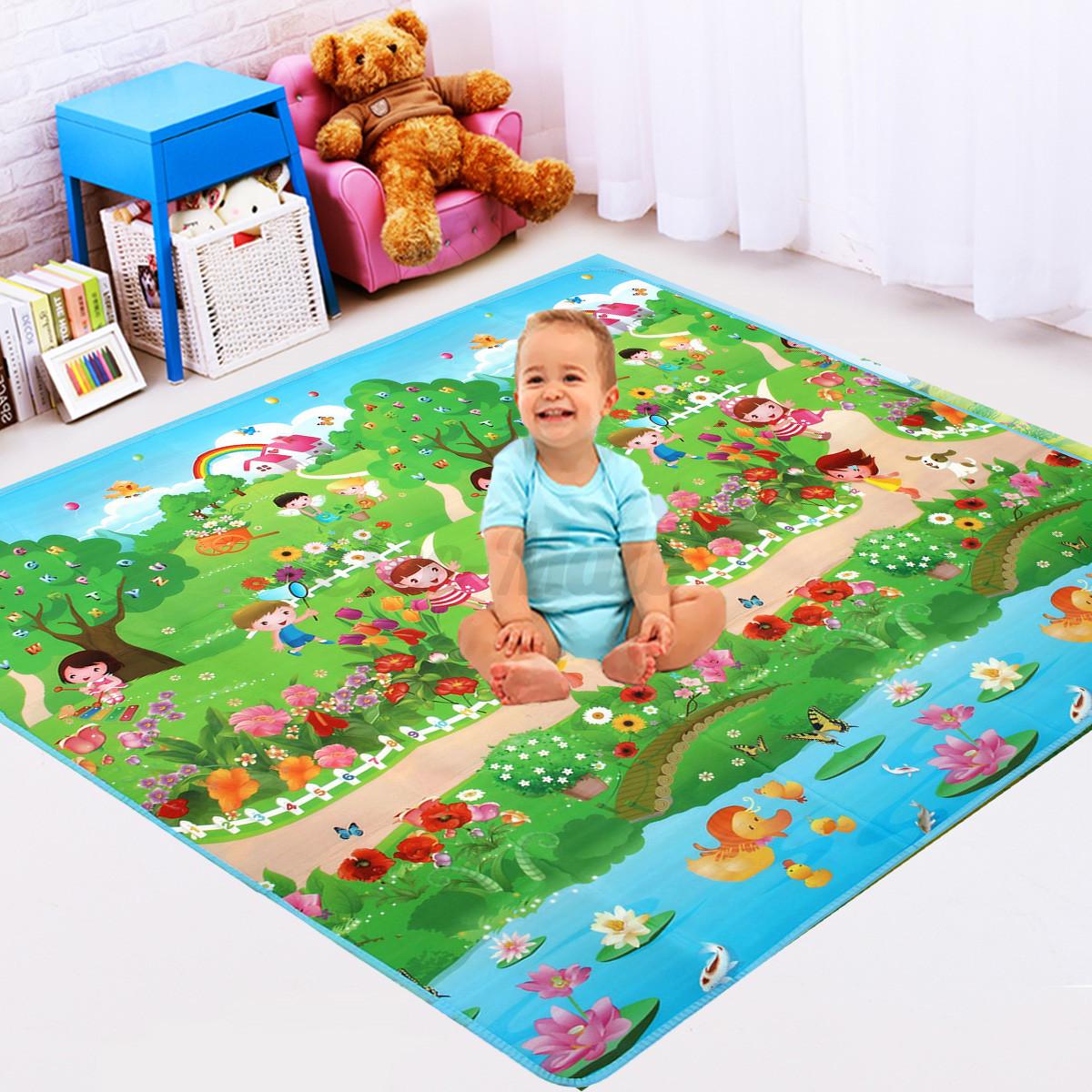 Baby Kids Play Mat Foam Floor Child Activity Soft Toy Gym